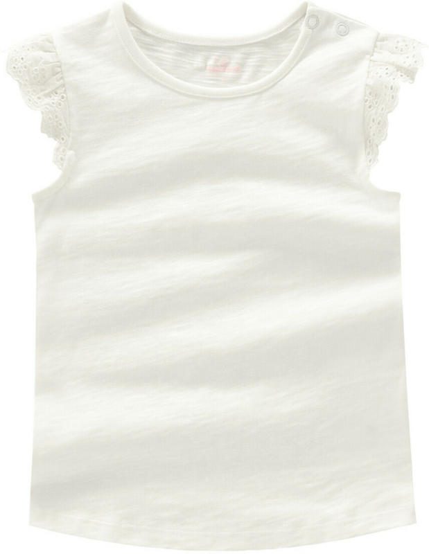 Baby T-Shirt mit Spitzenärmeln (Nur online)