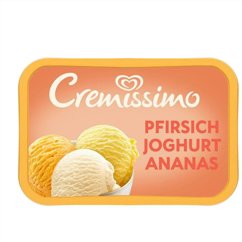 Eskimo Cremissimo Pfirsich-Jogurt-Ananas