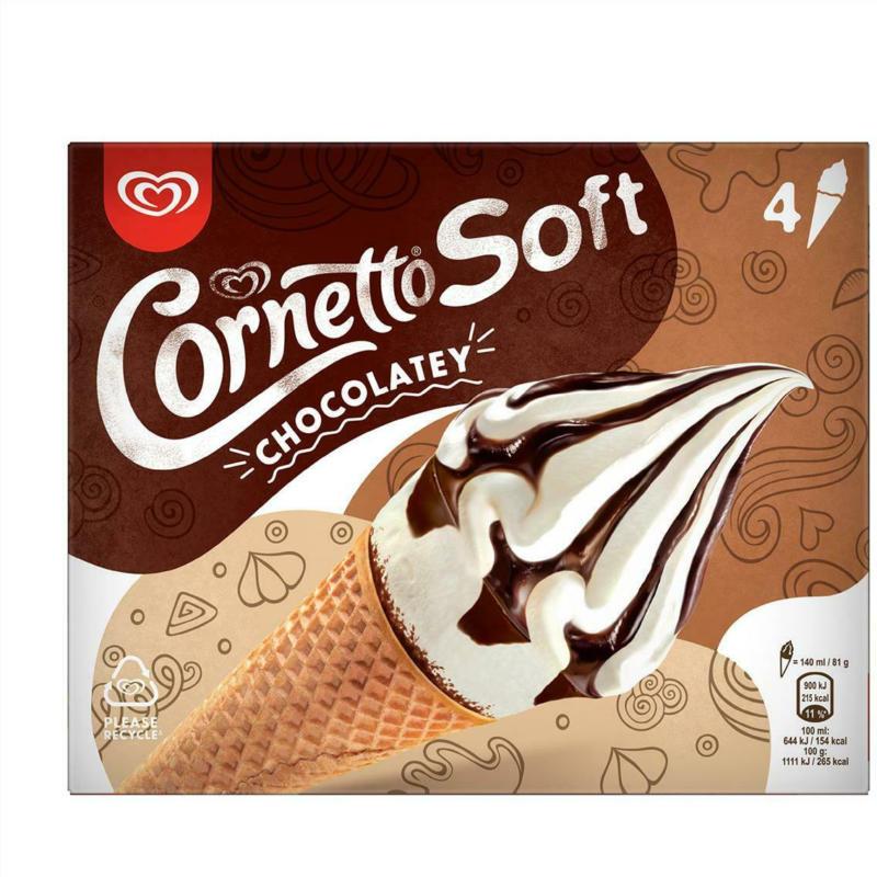 Eskimo Cornetto Soft Chocolatey