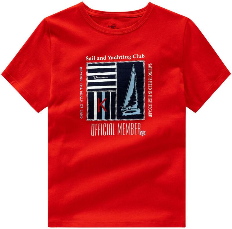 Jungen T-Shirt mit Applikation (Nur online)