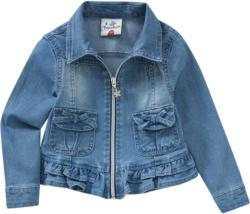 Mädchen Jeansjacke mit Volant (Nur online)