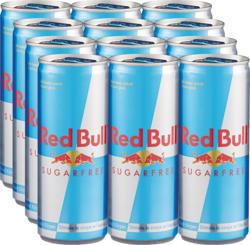 Red Bull Sugarfree, 12 x 25 cl