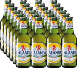 Birra lager Calanda, 24 x 33 cl