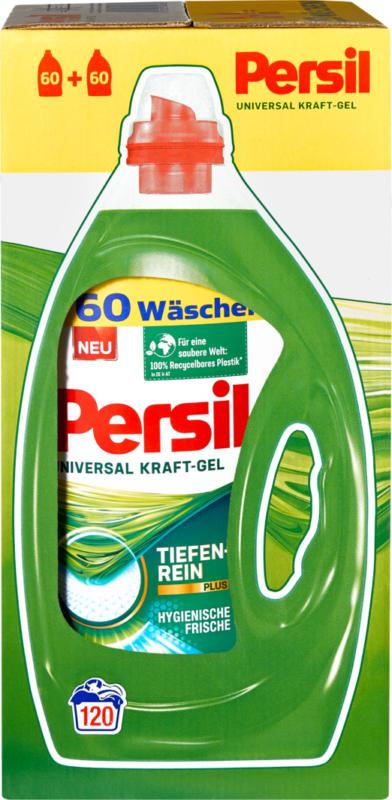 Lessive liquide Universal Persil, 2 x 60 lessives, 2 x 3 litres