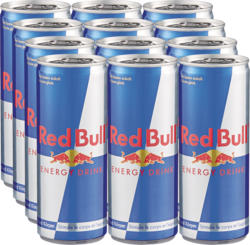 Red Bull Energy Drink, 12 x 25 cl