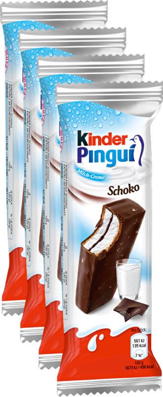 Ferrero Kinder Pinguí Schoko, 4 x 30 g