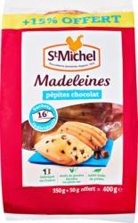 Madeleines St Michel , con pezzetti di cioccolato, 400 g
