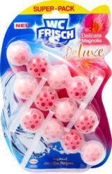 WC Frisch DeLuxe Delicate Super Pack, Delicate Magnolia, 3 x 50 g