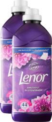 Ammorbidente Amethyst & Floral Bouquet Lenor, 2 x 44 cicli di lavaggio, 2 x 1,32 litri