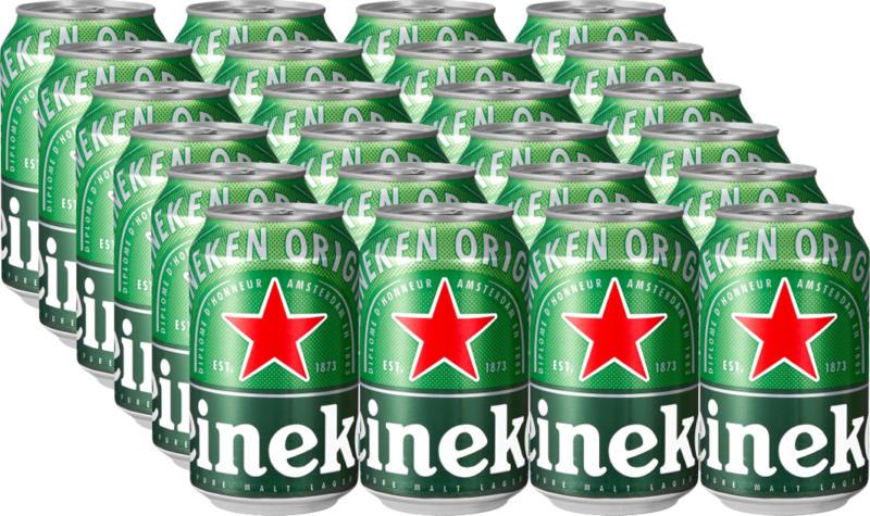 Birra Premium Heineken, 24 x 33 cl