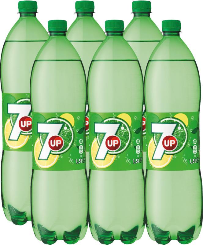 7UP Regular, 6 x 1,5 Liter