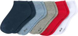 5 Paar Jungen Sneaker-Socken im Set (Nur online)