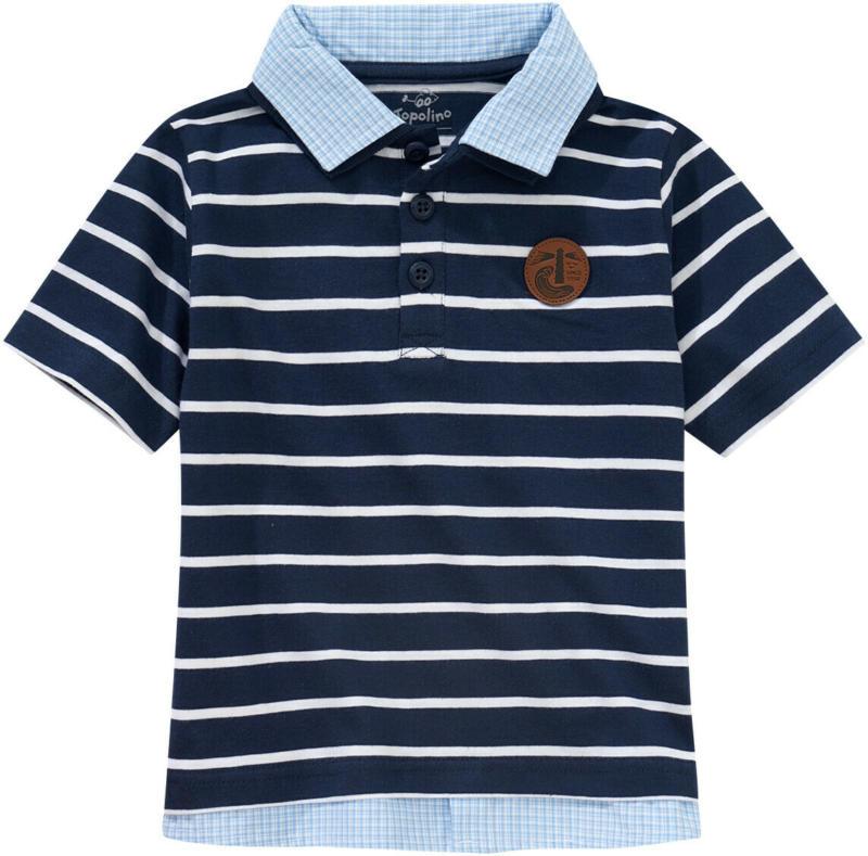 Jungen Poloshirt im Lagen-Look (Nur online)