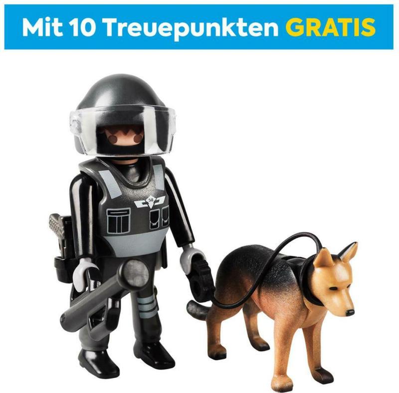 70427 PLAYMOBIL SEK Polizist mit Hund
