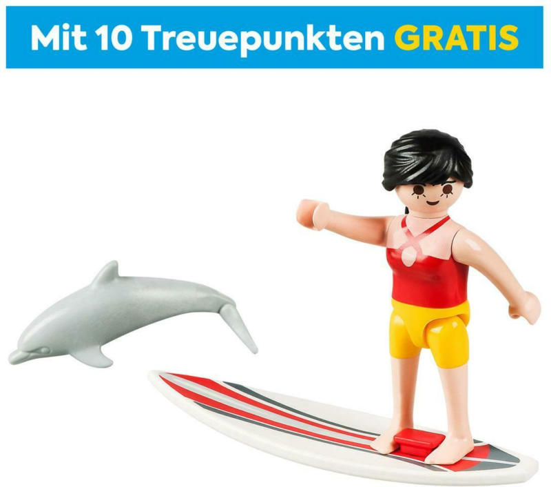 70423 PLAYMOBIL Surferin mit Delfin