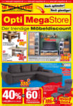 Opti Wohnwelt Opti MegaStore: Möbelangebote - bis 03.04.2021