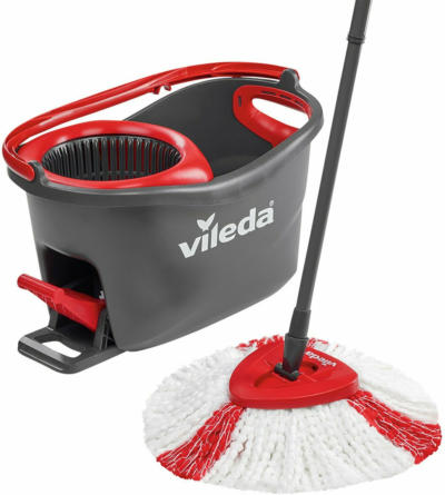Vileda Wischmopp Komplett-Set Turbo Easy Wring & Clean