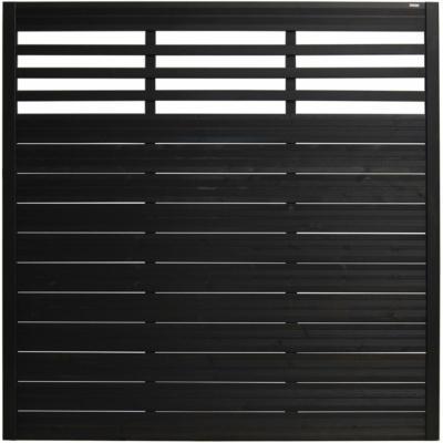 Andrewex Sichtschutzzaun-Element Soho Anthrazit lackiert 180 cm x 180 cm