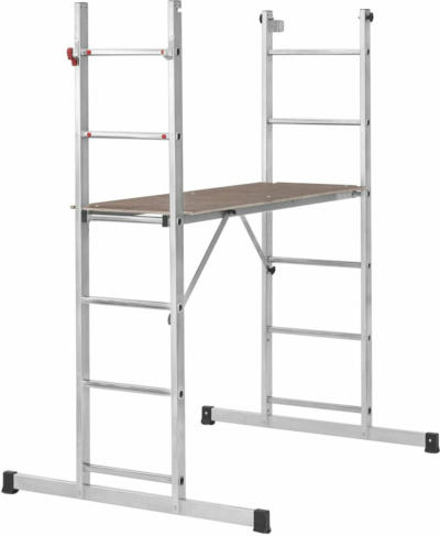 Alpe Leiterngerüst 2 x 6 Sprossen Arbeitshöhe 2,50 m