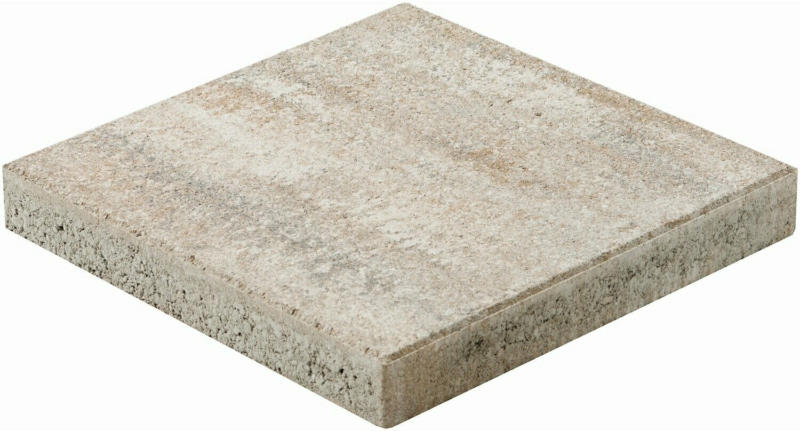Terrassenplatte Bologna Jura-Nuanciert 40 cm x 40 cm x 5 cm