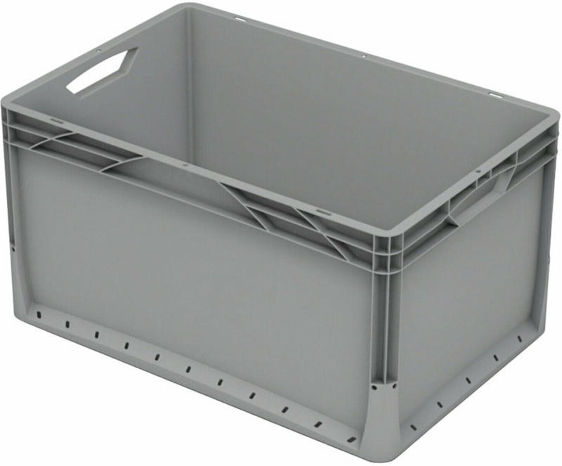 OBI Eurobox-System Tauro Box Vollwand 60 x 40 x 32 cm Grau