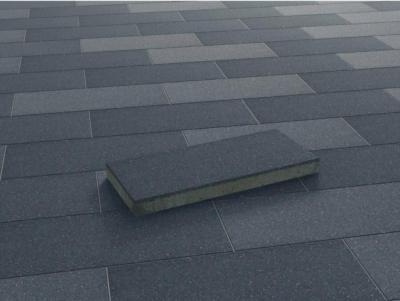 Terrassenplatte Beton Denver Anthrazit wassergestrahlt 60 cm x 25 cm x 5 cm