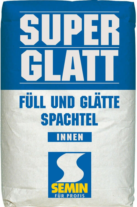 Semin Spachtelmasse Super Glatt 25 kg