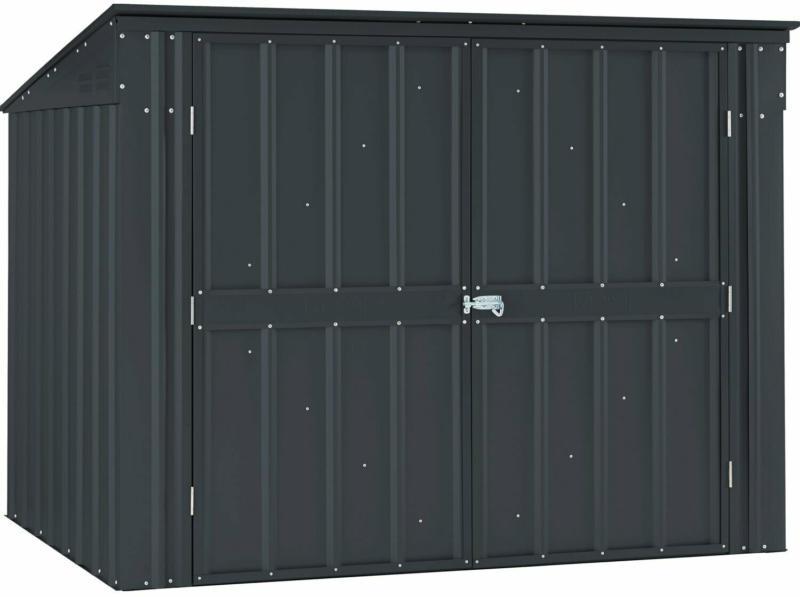 Mülltonnenbox 5x3 für 2 x 240 l Tonne Anthrazit