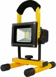 REV Ritter LED-Baustrahler mit Akku Spot 7 W, 600 lm, 6000 K Schwarz-Gelb