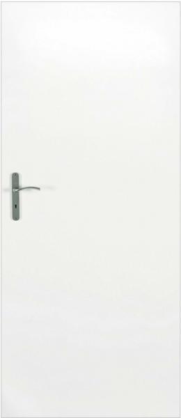 Classen Zimmertür Dekor Weiß 73,5 cm x 198,5 cm Anschlag R