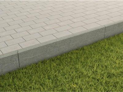 Randstein Grau 100 cm x 25 cm x 5 cm