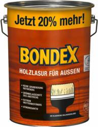 Bondex Holzlasur für Außen Teak seidenglänzend 4,8 l