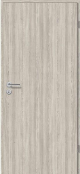 Zimmertür CPL Eiche Silber Nachb. (GLN38) 86 cm x 198,5 cm Anschlag R