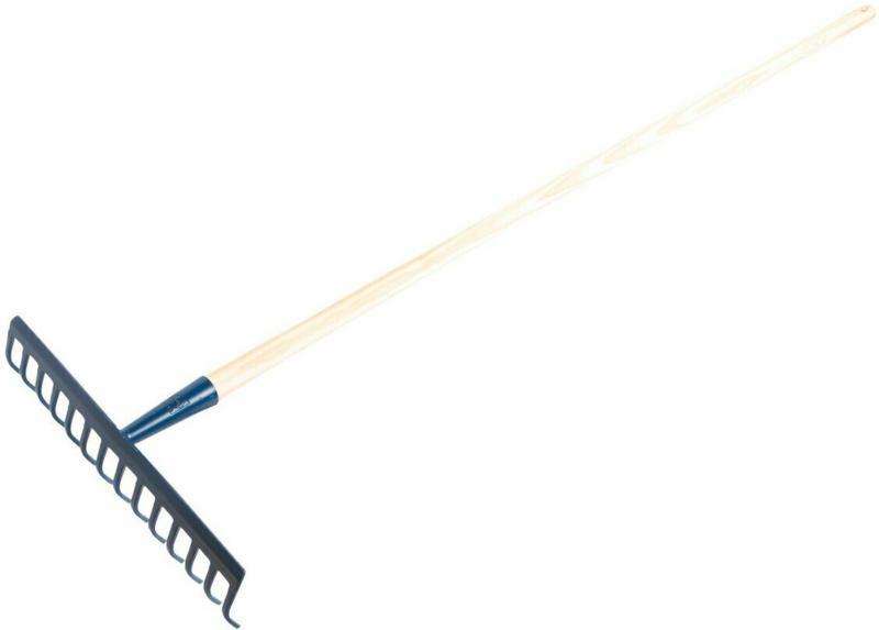 LUX Rechen 14 Zinken mit Stiel 150 cm