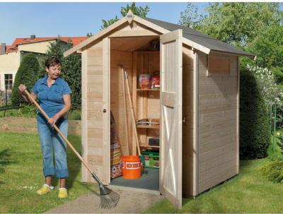 OBI Holz-Gartenhaus Kompakt A BxT: 152 cm x 150 cm