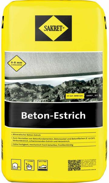 Sakret Betonestrich 40 kg