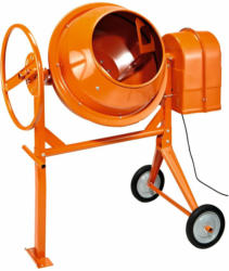 Betonmischer 125 l Orange