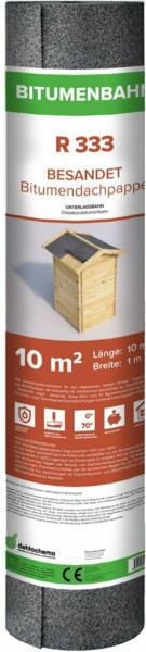 Bitumen Dachpappe 333 besandet 10 m²