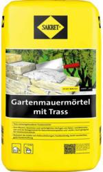 Sakret Gartenmauermörtel mit Trass 25 kg