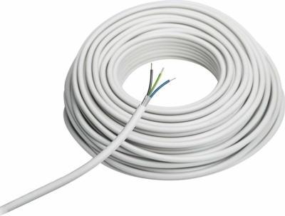 Installations-, Elektro- und Stromkabel NYM-J 3 x 1,5 mm² 50 m Grau