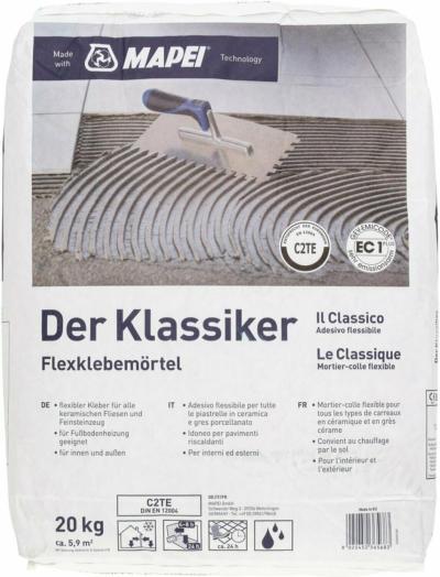 Der Klassiker Flexmörtel  C2TE 20 kg