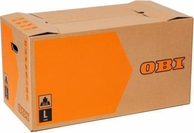 OBI Umzugskarton L 80 l 30 kg 67 cm x 35 cm x 35 cm