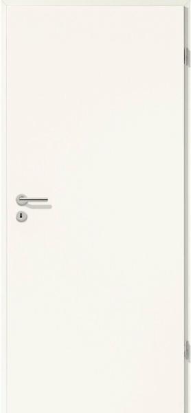 Zimmertür CPL Weiß Seidenmatt (GL223) 86 cm x 198,5 cm Anschlag R