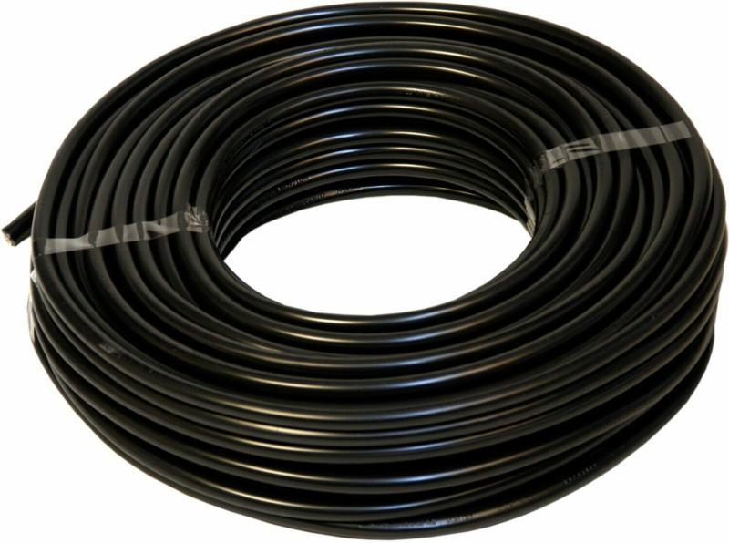 Emskabel Erdkabel NYY-J 3 x 1,5 mm² Schwarz 25 m