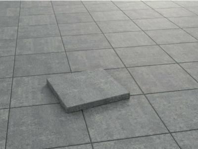 Terrassenplatte Beton Palermo Grau-Nuanciert 40 x 40 x 5 cm