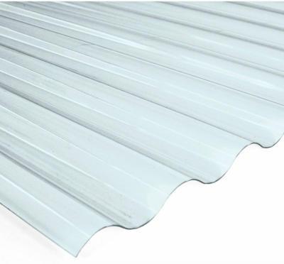 PVC-Wellplatte Sinus 76/18 Klar 80 cm x 120 cm Stärke: 0,65 mm