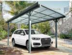 OBI Floraworld Flachdach-Einzelcarport Aluminium Anthrazit 300 cm x 496 cm - bis 31.08.2021