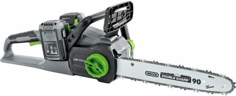 LUX Akku-Kettensägen-Set 1 PowerSystem A-KS-2x20/4/30