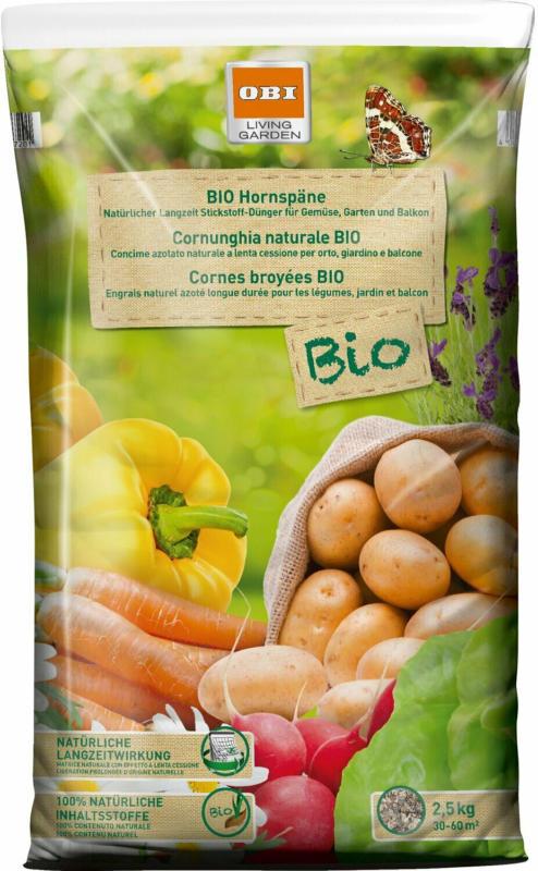 OBI Bio Hornspäne 2,5 kg