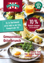SuperBioMarkt: Genussvoller Osterbrunch